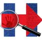 Illustration on investigations of Hillary's activities relative to the Benghazi attacks by Alexander Hunter/The Washington Times