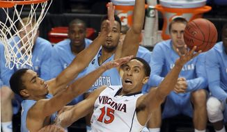 Virginia's Malcolm Brogdon said despite winning 30 games and a second straight ACC regular-season title, it was disappointing to lose in last year's NCAA opening weekend. (Associated Press)