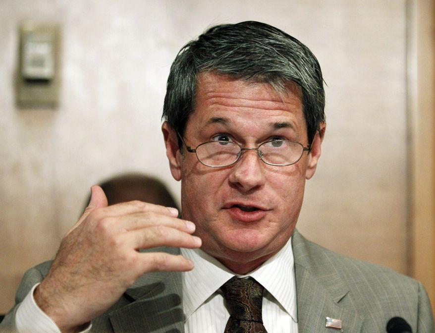 Sen. David Vitter, R-La., speaks on Capitol Hill in Washington, in this Aug. 3, 2010, file photo. (AP Photo/Manuel Balce Ceneta, File)