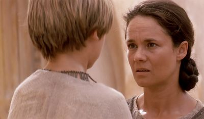 The mother of Anakin Skywalker (Pernilla August) was also a brave and resilient woman who survived life as a slave to become a Tatooine moisture farmer. Shmi surrendered her son to the Jedi Order, putting him on a path to become one of the greatest Jedi.