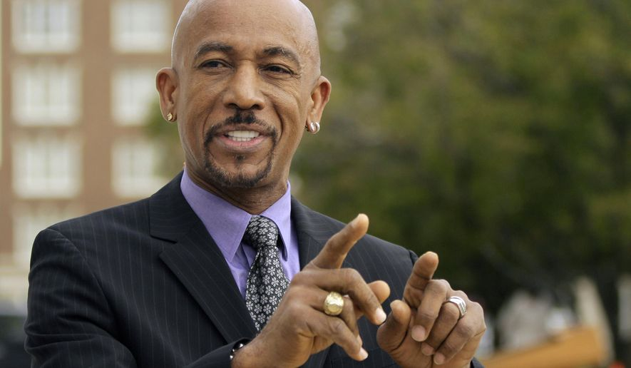 TV personality Montel Williams is shown here in an Oct. 18, 2012 file photo from the grounds of the Arkansas state Capitol in Little Rock. (Associated Press) **FILE**