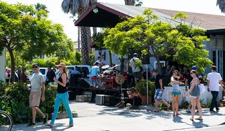 Santa Barbara's pedestrian-friendly, downtown Funk Zone offers a revitalized urban adventure amid the oceanside town's boutiques, shops and university.  (Lafondwinery.com)