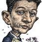 Illustration of Paul Ryan by Kevin Kreneck/Tribune Content Agency