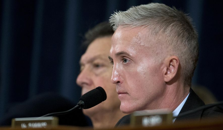 Rep. Trey Gowdy, South Carolina Republican and chairman of the Select Committee on Benghazi