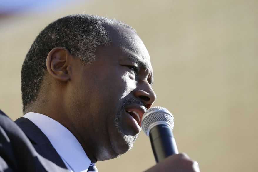 Ben Carson's campaign shrugged off the Club for Growth's findings, dismissing its methods and conclusions. (Associated Press)