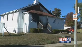 """St. Louis authorities believe an arsonist or arsonists """"meant to send a message"""" in 7 church burnings that have rocked the area in the past 11 days. (KMOV)"""