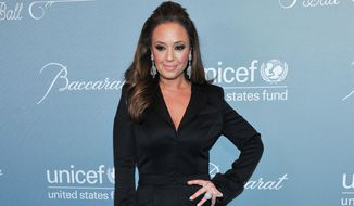 """In this Jan. 14, 2014 photo, Leah Remini arrives at the 2014 UNICEF Ball in Beverly Hills, Calif. Remini is talking about Scientology and Tom Cruise in a new interview with ABC's """"20/20."""" The actress says in a clip released Monday, Oct. 26, 2015, that """"Being critical of Tom Cruise is being critical of Scientology itself.""""  (Photo by Richard Shotwell Invision/AP, File)"""