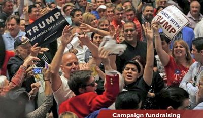 Tim Constantine reports on a surprising source of campaign funds for Donald Trump, a new supporter for Ted Cruz, and the resurrection of the Ex-Im Bank.