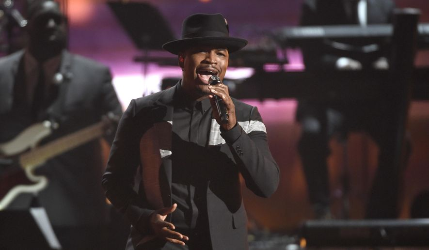 """Ne-Yo performs during a tribute to Smokey Robinson at the BET Awards in Los Angeles, in this June 28, 2015, file photo. Whether belting out lyrics to Al Green's """"Let's Stay Together,"""" leading a mournful congregation through """"Amazing Grace,"""" or tweeting his Spotify music playlist that includes Stevie Wonder and Nina Simone, President Barack Obama is showing that he's a pretty soulful guy.  (Photo by Chris Pizzello/Invision/AP, File)"""