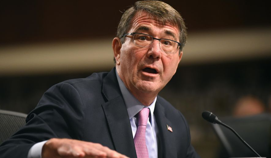 "The senior military assistant to Defense Secretary Ashton Carter has reportedly been fired for ""allegations of misconduct."" (Associated Press)"