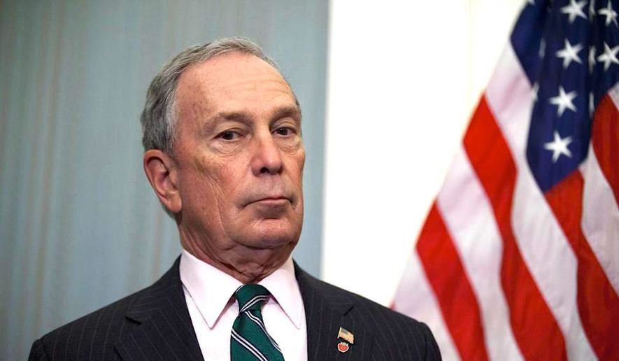 Former New York City Mayor Michael Bloomberg's name has come up as a possible 2016 presidential contender — as a Democrat. (Associated Press)