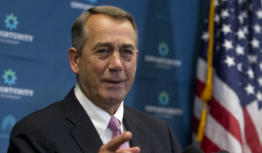 House Speaker John A. Boehner announced his retirement from Congress in late September, just a day after he hosted Pope Francis at the Capitol. (Associated Press)