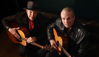 Dave Alvin and Phil Alvin.  (Jeff Fasano)