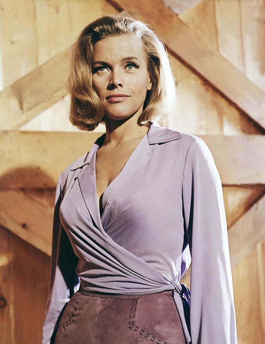 1964, Goldfinger, Honor Blackman as Pussy Galore