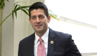 Rep. Paul Ryan at the U.S. Capitol (AP Photo)