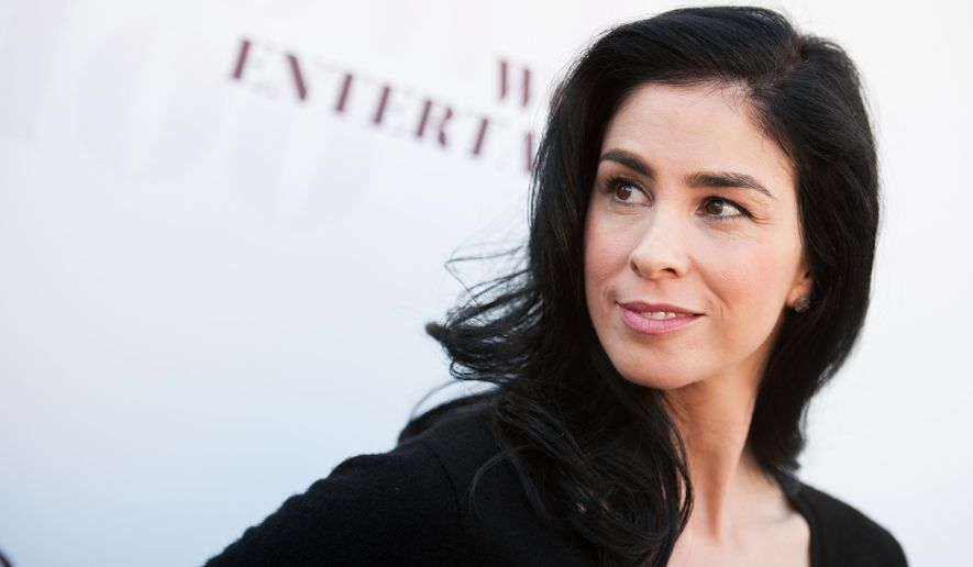 Sarah Silverman arrives at the The Hollywood Reporter's Women In Entertainment Breakfast on Wednesday, Dec. 10, 2014, in Los Angeles. (Photo by Richard Shotwell/Invision/AP)