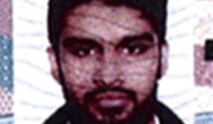 FILE - This undated passport photo provided by the U.S. Attorney's Office in Chicago shows Mohammed Hamzah Khan. On Thursday, Oct. 29, 2015, Khan, 20, a suburban Chicago youth accused of trying to join Islamic State militants, pleaded guilty to attempting to provide material support to a foreign terrorist organization as part of a plea deal with the government. The plea deal says prosecutors will recommend a five-year prison sentence for Khan if he fully cooperates with federal investigators. (U.S. Attorney's Office via AP, File)