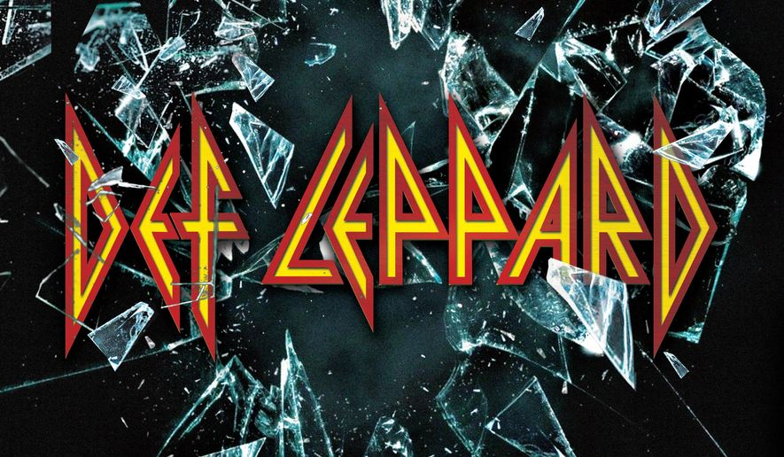 This CD cover image released by Mailboat Records shows the self-titled album for Def Leppard. (Mailboat Records via AP)