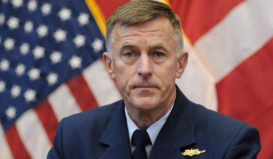 Coast Guard Commandant Paul F. Zukunft, one of the admirals involved in jury selection, told a hearing judge that he was unaware of jury stacking. The appeals court rejected his excuse. (Associated Press/File)