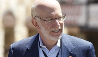 Ben Ginsberg, a former Republican National Committee general counsel, has been despised by many conservatives for his role in getting delegates to the 2012 GOP nominating convention to adopt new rules that made it easier for the nominee, Mitt Romney, to win. His role in the meeting Sunday evening only further agitated those conservatives. (Associated Press)