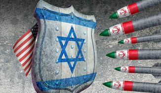 Israel: First Line of Defense Illustration by Greg Groesch/The Washington Times