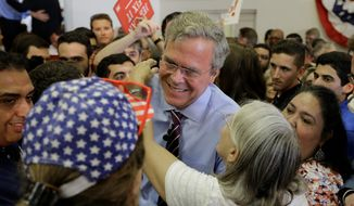 """Republican presidential hopeful former Florida Gov. Jeb Bush rolled out a new campaign pitch Monday, promising to be a """"fix it"""" president, banking on his governing experience to beat out the big personalities of some of his competitors. (Associated Press)"""