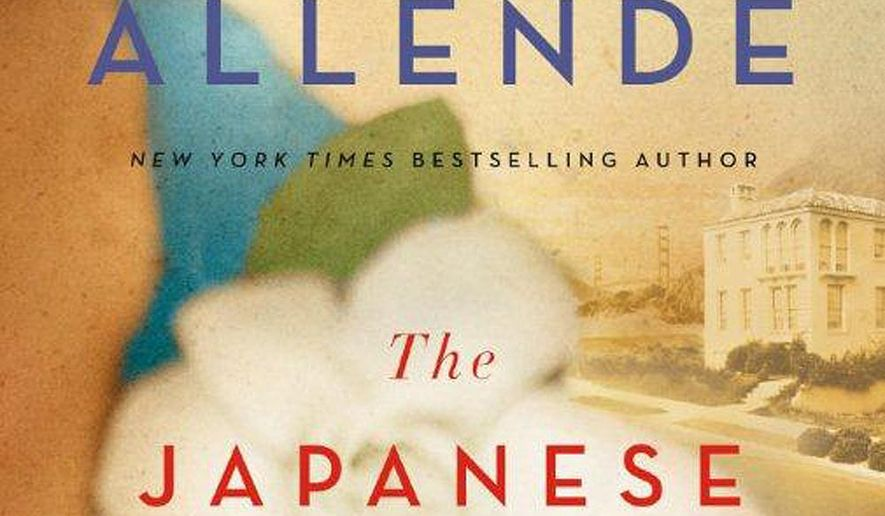 """This photo provided by Atria Books shows the cover of the book, """"The Japanese Lover,"""" by author, Isabel Allende. (Atria Books via AP)"""