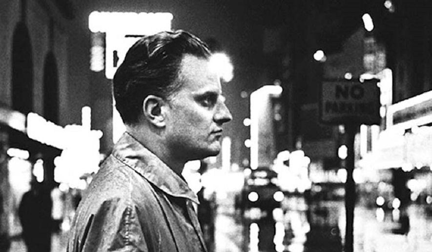 Billy Graham in New York City, 1957. Courtesy of the Billy Graham Evangelistic Association, (BillyGraham.org).