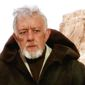 Sir Alec Guinness played a legendary Jedi Master Obi-Wan Kenobi, a noble man and gifted in the ways of the Force. He trained Anakin Skywalker, served as a general in the Republic Army during the Clone Wars, and guided Luke Skywalker as a mentor. (Image courtesy of Lucasfilm Ltd). ** FILE **