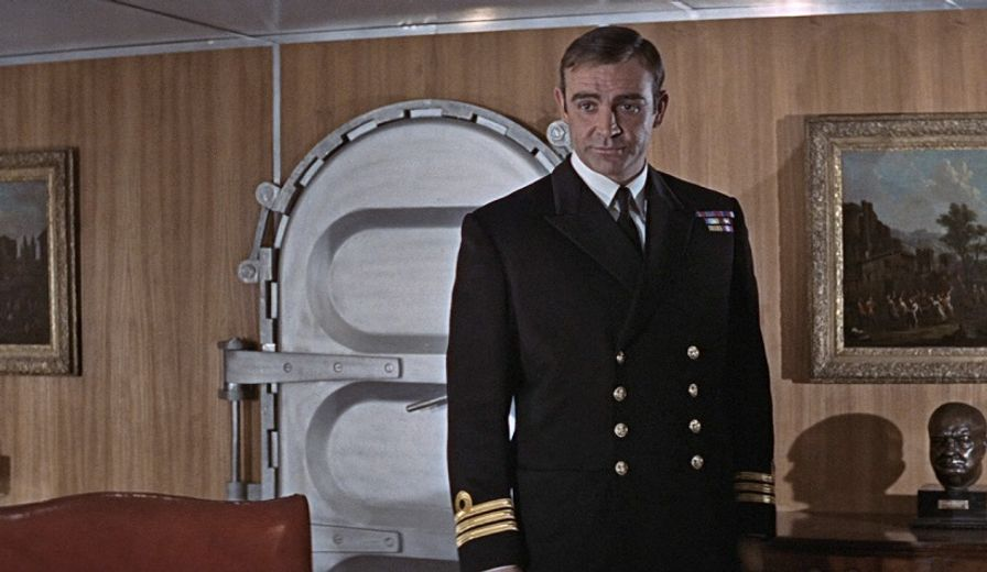 James Bond is a Commander in which branch of the military?