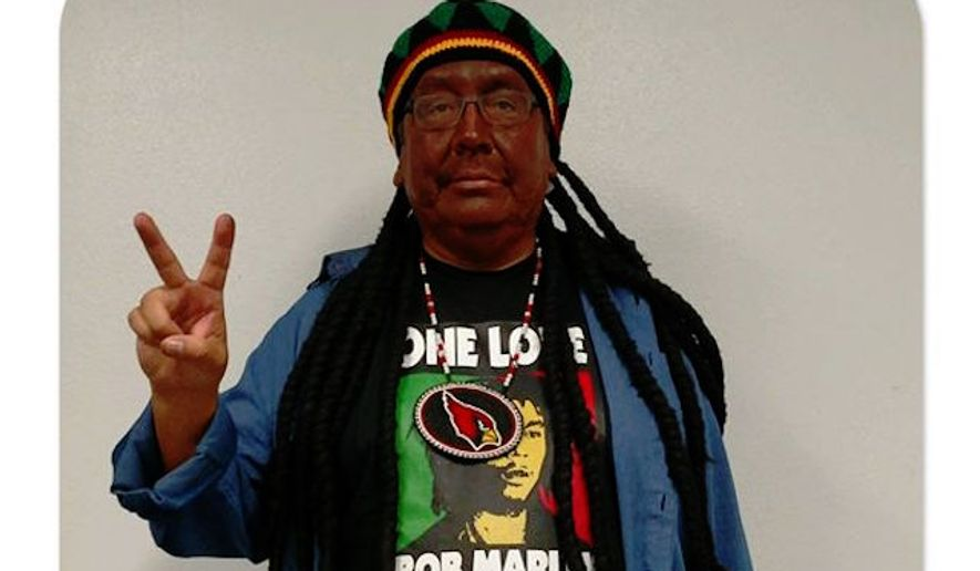 Terry Rambler, a Native American leader and outspoken opponent of the Washington Redskins' team name, reportedly dressed up in blackface for Halloween. (Facebook/@Terry Rambler)
