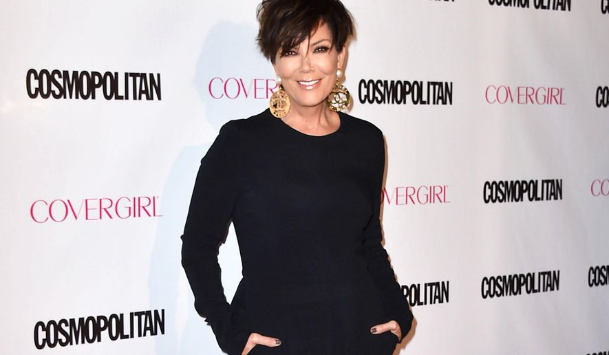 "FILE - In this Oct. 12, 2015 file photo, Kris Jenner arrives at Cosmopolitan magazine's 50th birthday celebration in West Hollywood, Calif. A video game company sued Jenner in  a Los Angeles federal court, on Wednesday, Nov. 4, 2015, alleging that the game ""Kim Kardashian: Hollywood"" was based on a presentation it did for the Kardashian family matriarch and constituted copyright infringement. Just Games Interactive Entertainment is seeking more than $10 million in damages. (Photo by Jordan Strauss/Invision/AP, File)"
