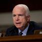 Senate Armed Services Committee Chairman Sen. John McCain, Arizona Republican. (Associated Press) ** FILE **
