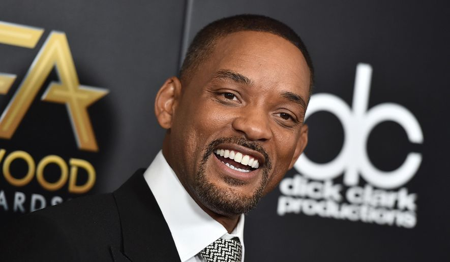 Will Smith arrives at the Hollywood Film Awards in Beverly Hills, Calif., in this Nov. 1, 2015, file photo. (Photo by Jordan Strauss/Invision/AP, File)