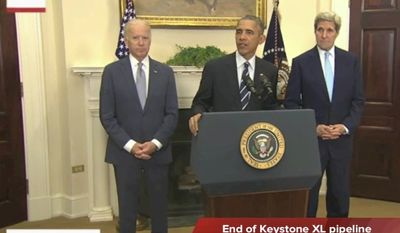 Tim Constantine reports on the end of the Keystone XL pipeline, the White House pushing enrollment in Obamacare, and the latest James Bond movie opening this weekend.