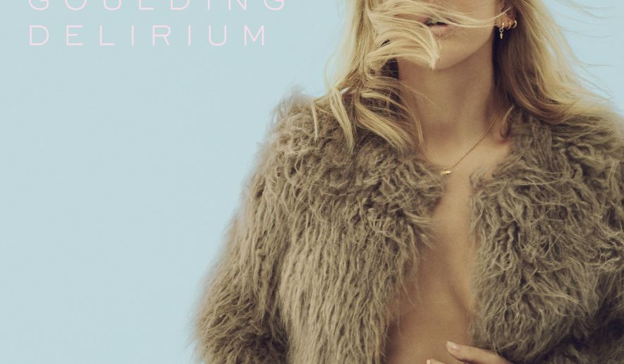 """This CD cover image released by Interscope Records shows """"Delirium,"""" a new release by Ellie Goulding. (Interscope via AP)"""