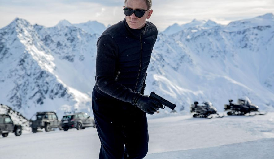 """In this image released by Metro-Goldwyn-Mayer Pictures/Columbia Pictures/EON Productions, Daniel Craig appears in a scene from the James Bond film, """"Spectre."""" The movie releases in U.S. theaters on Nov. 6, 2015. (Jonathan Olley/Metro-Goldwyn-Mayer Pictures/Columbia Pictures/EON Productions via AP)"""