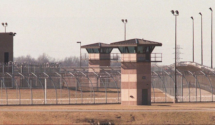 FILE - This undated file photo shows the El Dorado Correctional Facility in El Dorado, Kan. Turnover among corrections officers at Kansas prisons has been rising over the past five years, and both Corrections Secretary Ray Roberts and legislators see it as a serious public safety issue. (Brian Corn/The Wichita Eagle via AP) LCOAL TV OUT; MAGS OUT; LOCAL RADIO OUT; LOCAL INTERNET OUT