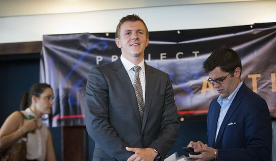 Project Veritas President James O'Keefe (Associated Press) **FILE**