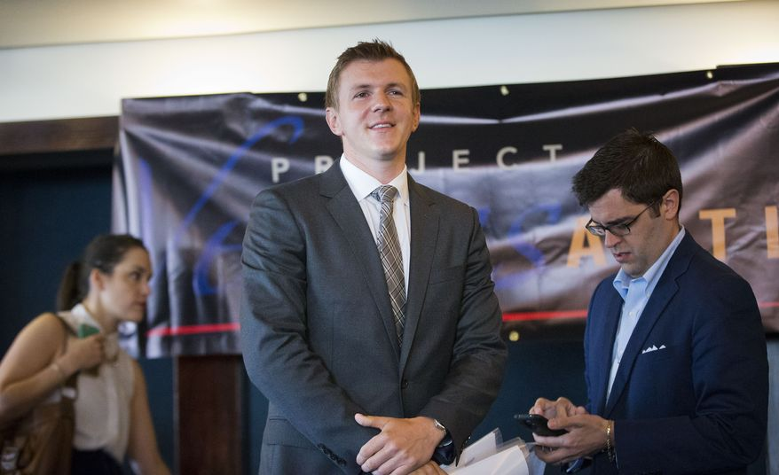James O'Keefe, founder of the conservative investigative group Project Veritas, released undercover video of Nicholas Dudich, The New York Times' audience strategy editor, bragging about his ability to slant the news.(Associated Press/File)