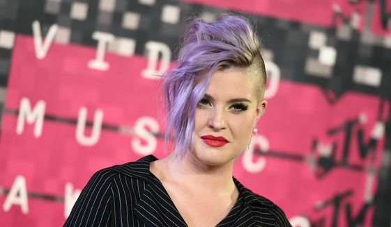 In this Sunday, Aug. 30, 2015, file photo, Kelly Osbourne arrives at the MTV Video Music Awards at the Microsoft Theater in Los Angeles. (Photo by Jordan Strauss/Invision/AP, File)