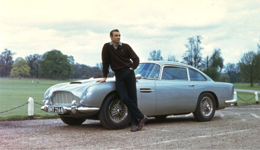 1963 Aston Martin DB5 - Goldfinger