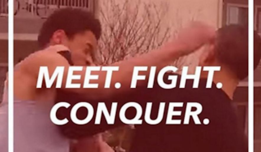 A new app that encourages users to meet up and fight is starting its beta trial on Monday. (Rumblr)