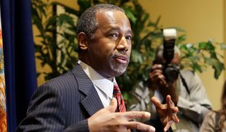 Republican presidential candidate Ben Carson surprised everyone by coming from nowhere to rising high enough in the polls to go toe to toe with Donald Trump. He also has become the top target of verbal attacks. (Associated Press)