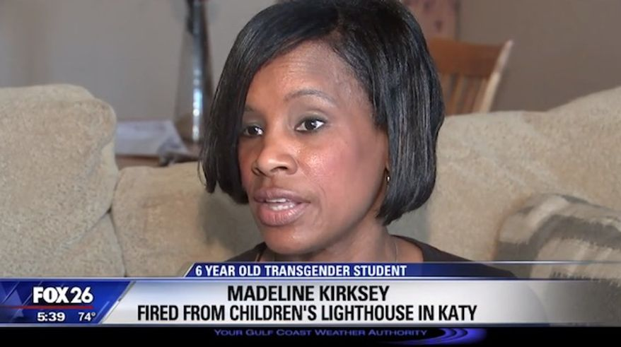 Madeline Kirksey is a former manager at Children's Lighthouse Learning Center who was allegedly fired for refusing to refer to a transgender 6-year-old by his new name. (FOX26)