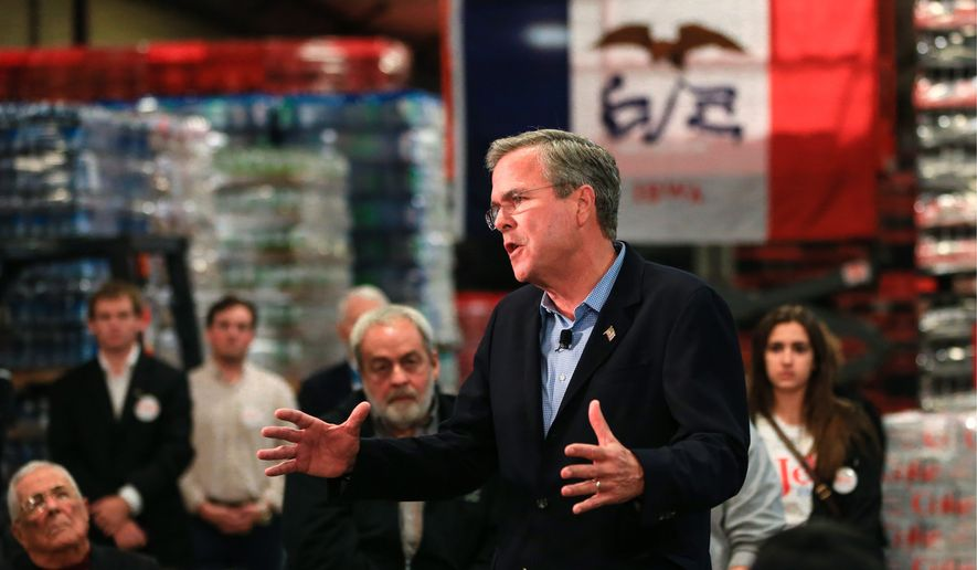 GOP presidential candidates like former Florida Gov. Jeb Bush and Carly Fiorina favor granting most illegal immigrants some form of legal status as well as a path to citizenship. (Associated Press)