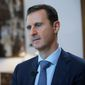Syrian President Bashar Assad is keeping his hold on power with the help of Russia, with various factions fighting to overthrow him. (Associated Press)