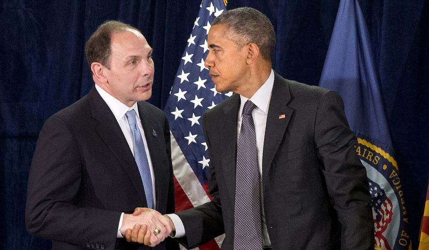 The Obama administration has tried under VA Secretary Robert McDonald to get beyond the crisis that erupted in Phoenix in April 2014 over delayed health care for veterans and phony waitlists. (Associated Press)