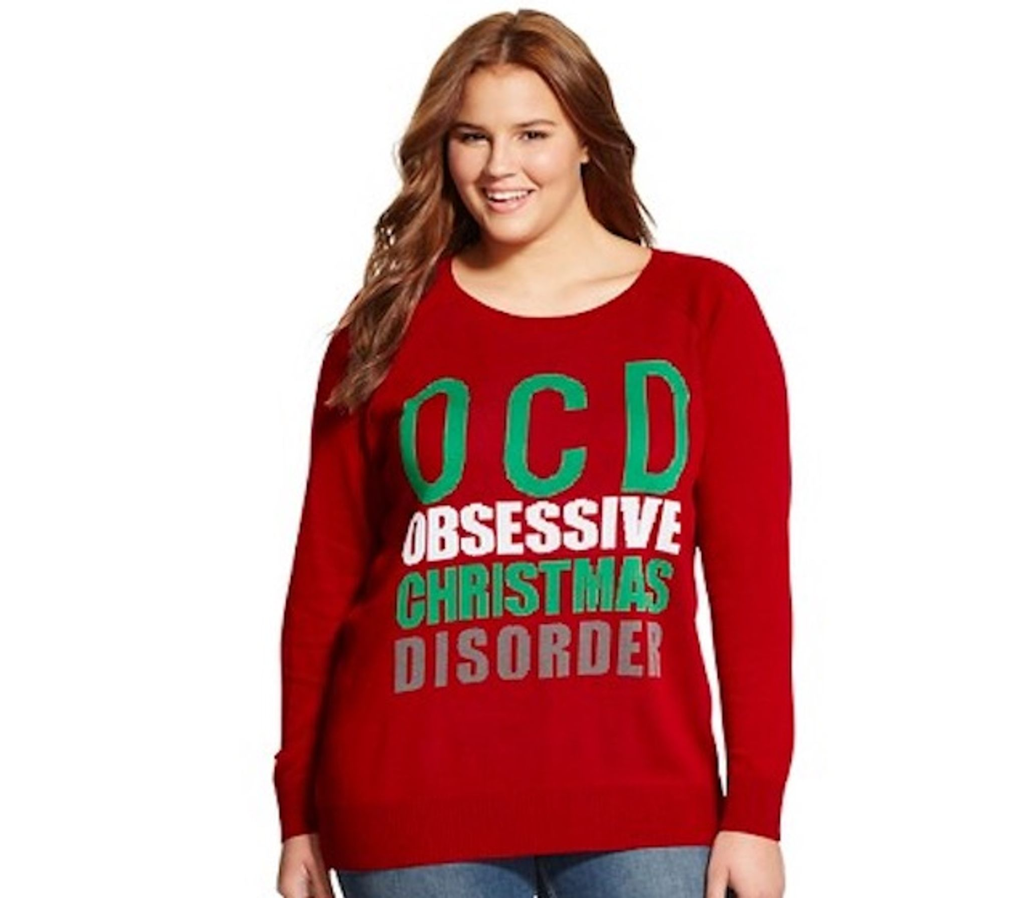 Target \'Obsessive Christmas Disorder\' sweater upsets OCD sufferers ...
