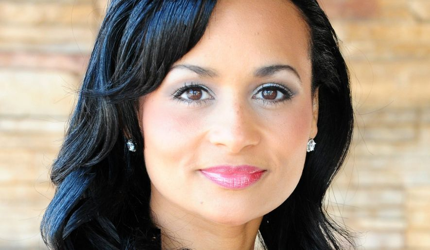 Katrina Pierson is shown here in this 2015 file photo. Ms. Pierson is a campaign adviser for President Trump's 2020 reelection campaign.